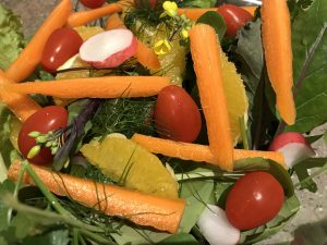 What to grow in the U.K. Assorted salads and fruit are possibilities