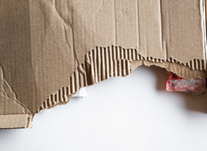 Cardboard can be composted without shredding