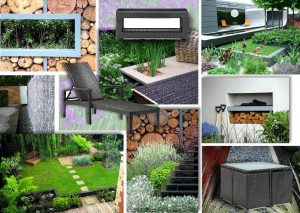 Garden Design Mood board